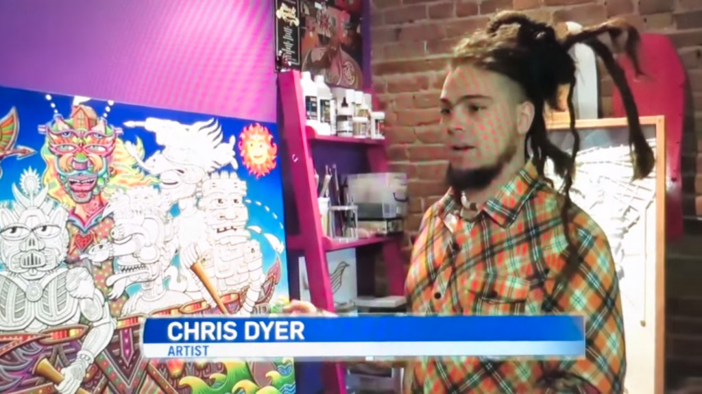 Chris Dyer Report on CTV News 2015