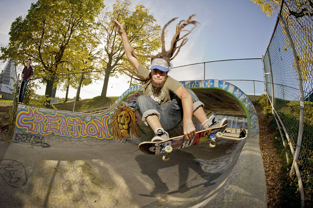 Chris Dyer air photo by Dan Mathieu