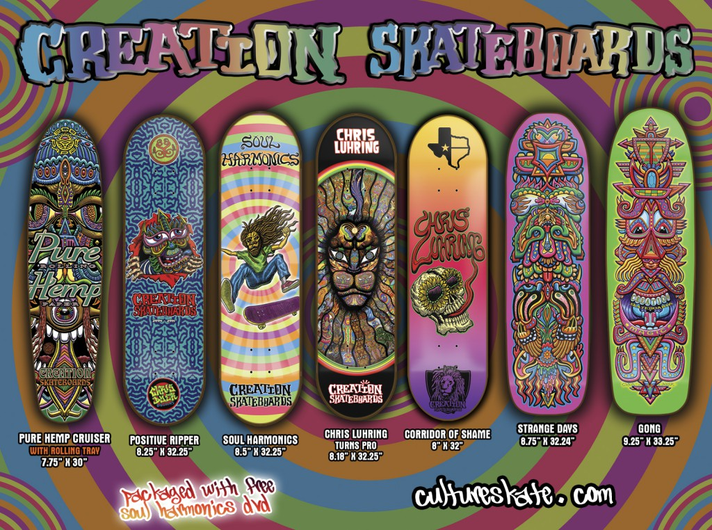 Commercial Skateboard Graphics