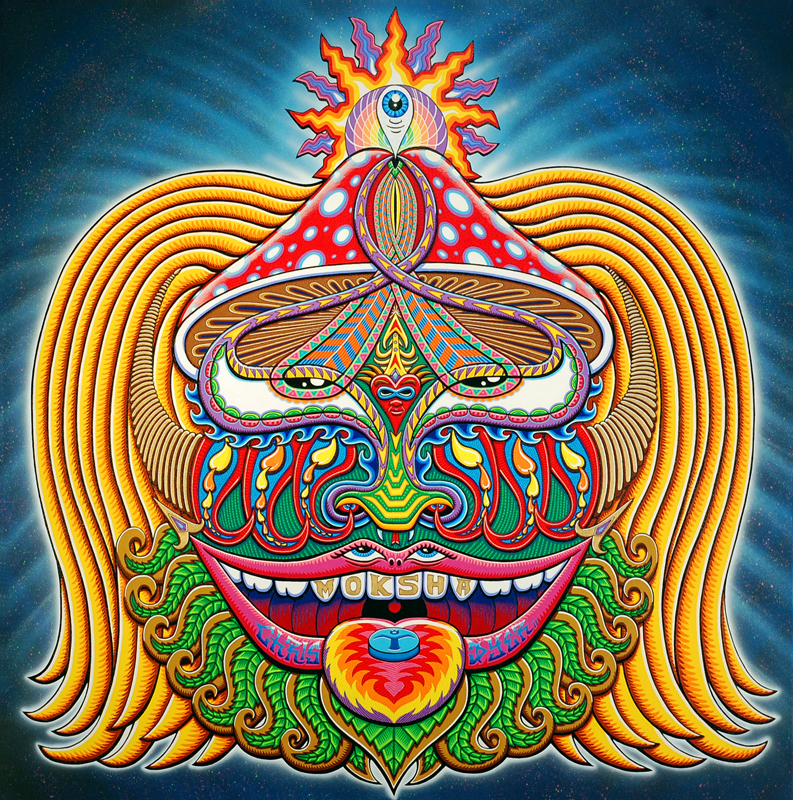 Chris Dyer unveils 2011 Moksha symbol in Miami