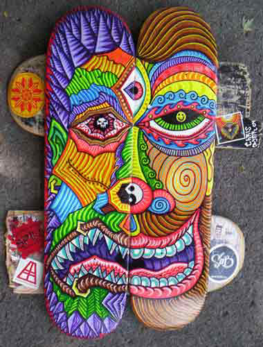 Old Skate Art