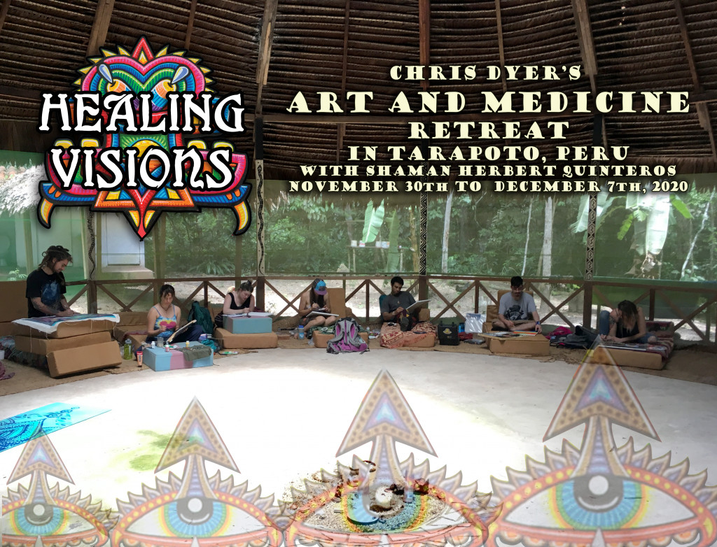 """Healing Visions"" Art and Medicine Retreat in Peru 2020"