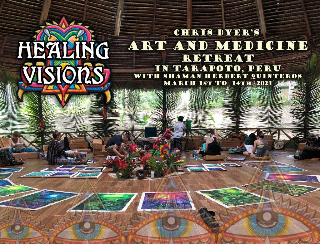 """""""Healing Visions"""" Art and Medicine Retreat in Peru 2021"""