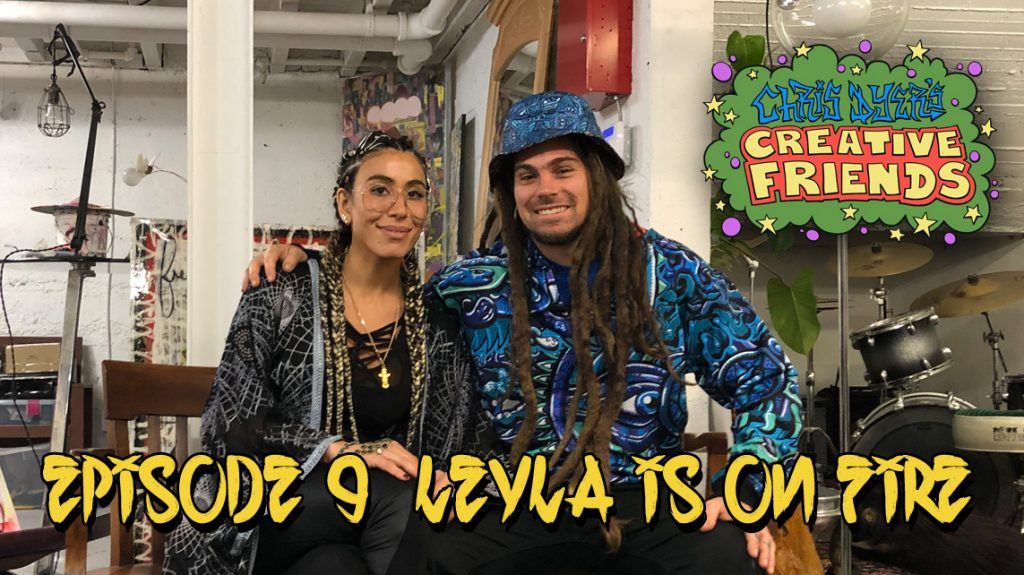 Creative Friends #9 - Leyla is on Fire